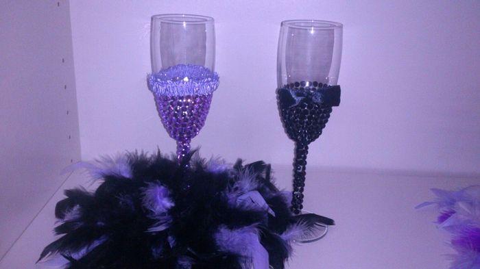 manualidade :copas para brindis diy - 3