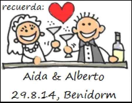 Imanes Save the Date Aida (Madrid)