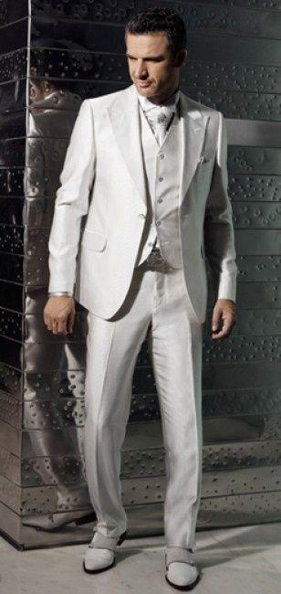Traje de novio en blanco p gina 5 moda nupcial foro for Trajes de novio blanco para boda