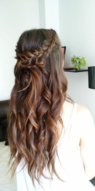 Empieza mi dilema con el peinado 1