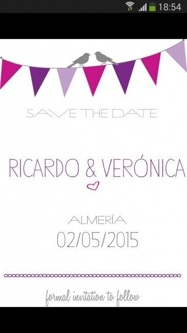 Nuestro Save the date - 1