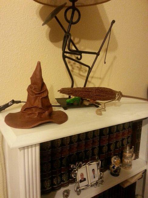 ¡mi árbol de huellas de Harry Potter! 3