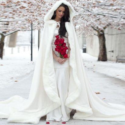 Chaquetas Para Novias De Invierno Moda Nupcial Foro Bodasnet - Novias-de-invierno