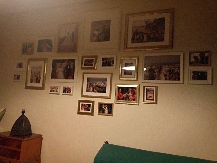 Darme ideas para poner una foto de nuestra boda en el salón de mi casa - 1