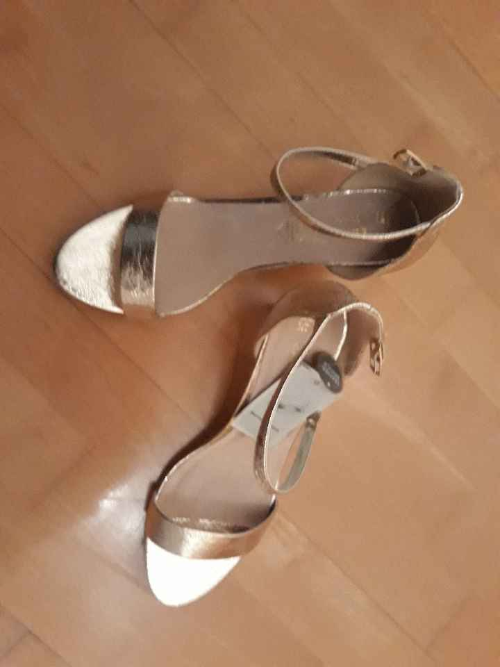 Zapatos abiertos para novia? - 1