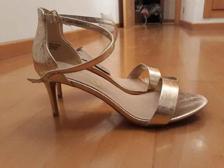 Zapatos abiertos para novia? - 2