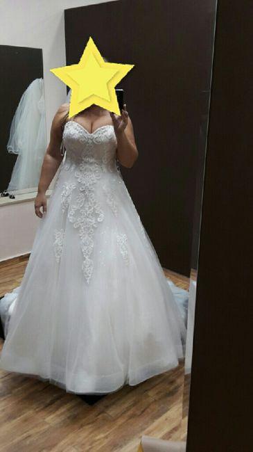 Vestido de novia, indecisa - 2