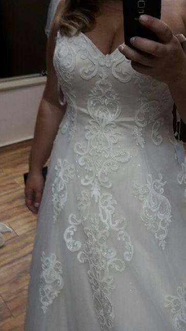 Vestido de novia, indecisa - 3