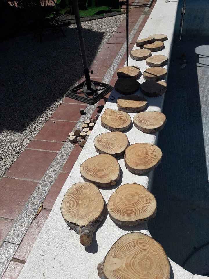Por fin!!!! Mis rebanadas de tronco - 1