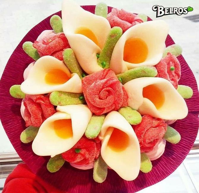 Cómo presentar las chuches en mesas dulces 6