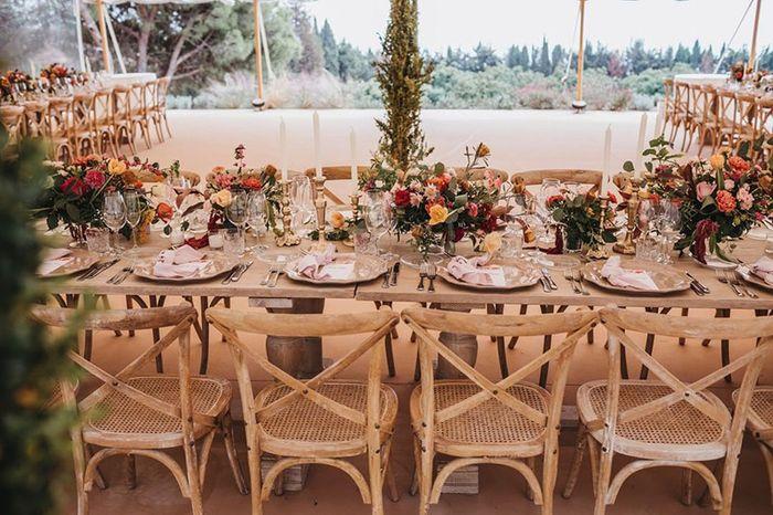 Catering y decoración de mesa 1