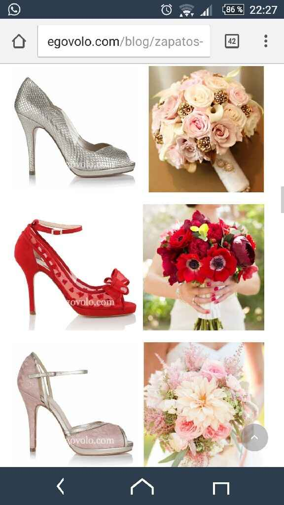 Zapatos rojo - 1
