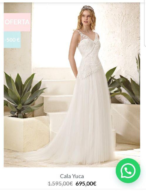 Vestidos novia low cost 8