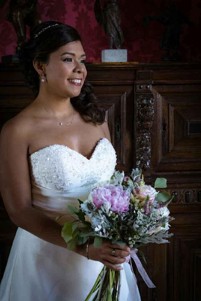 Ramo de novia en tela - 2