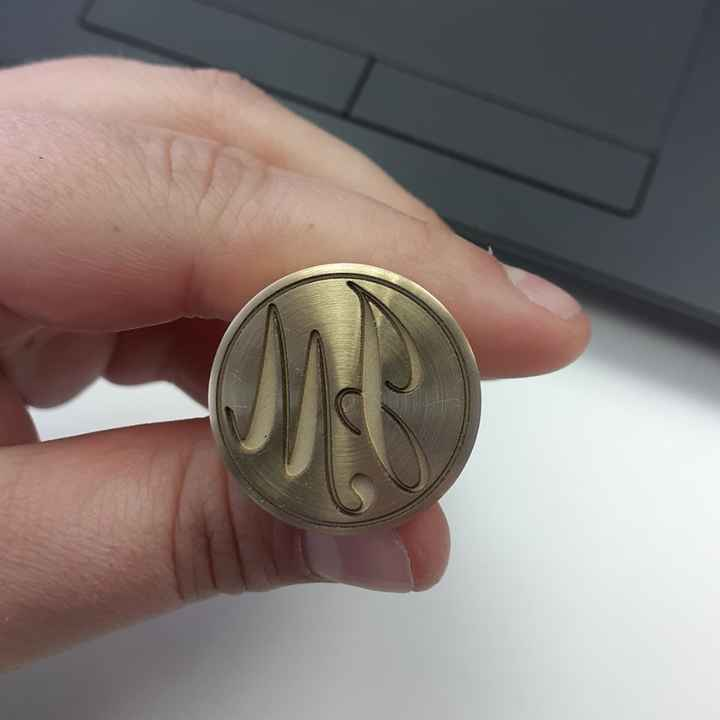 He recibido mi sello 😍 - 1