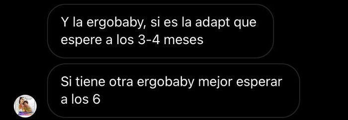 Mochila porta bebés - 1