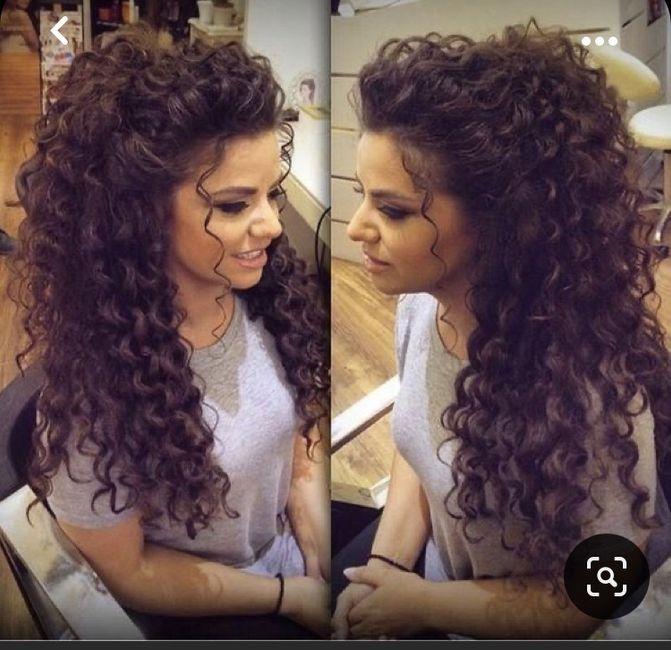 Elegir peinado para una Curly 12