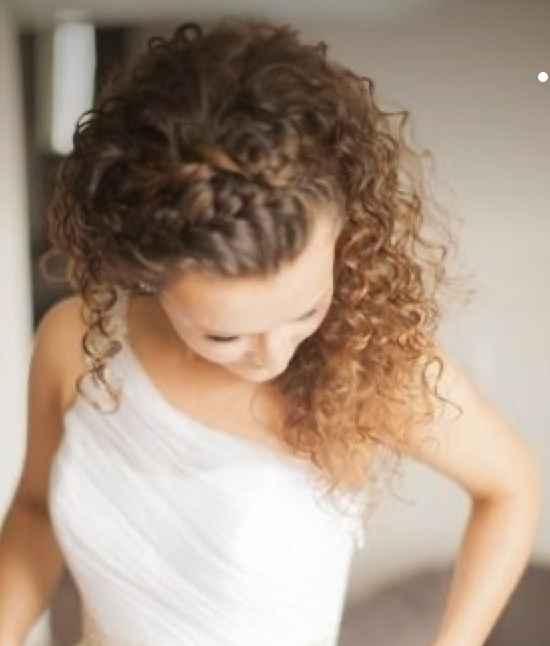 Elegir peinado para una Curly - 3