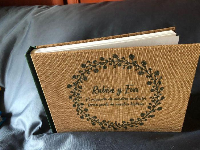 Llegó nuestro libro de firmas!!! 😍 1