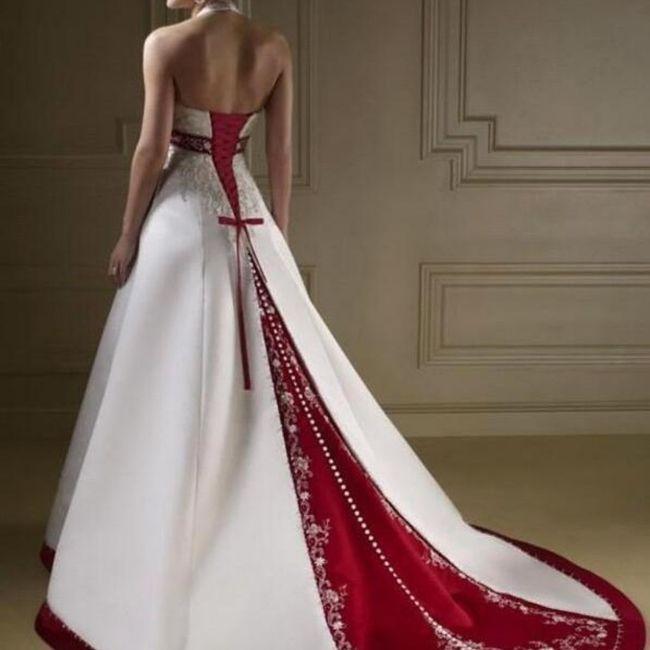 Y un vestido de novia navideño?? 1