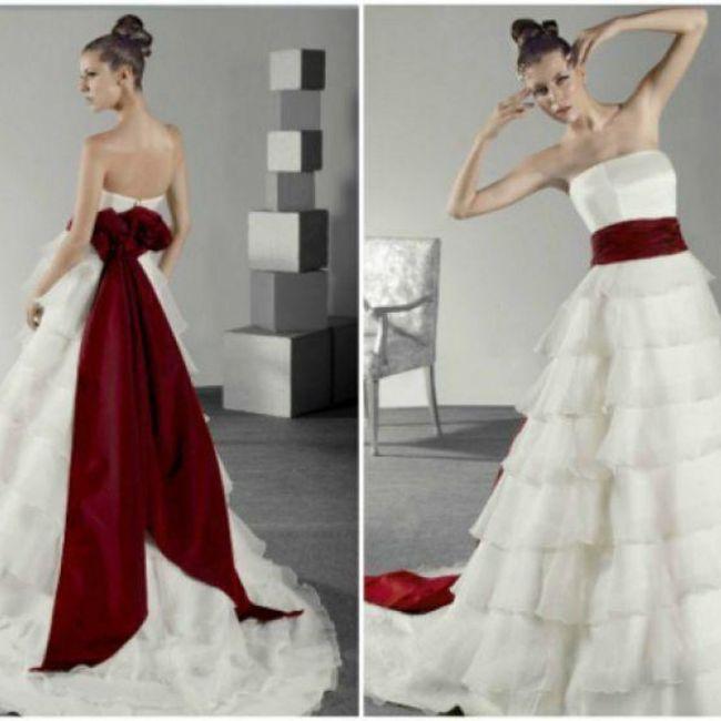 Y un vestido de novia navideño?? 2