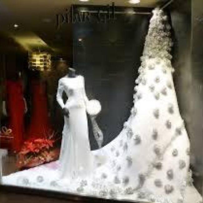 Y un vestido de novia navideño?? 3