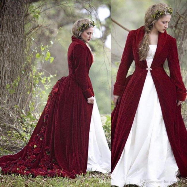 Y un vestido de novia navideño?? 4