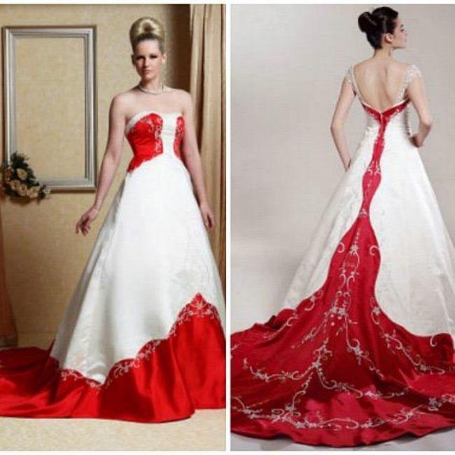 Y un vestido de novia navideño?? 7