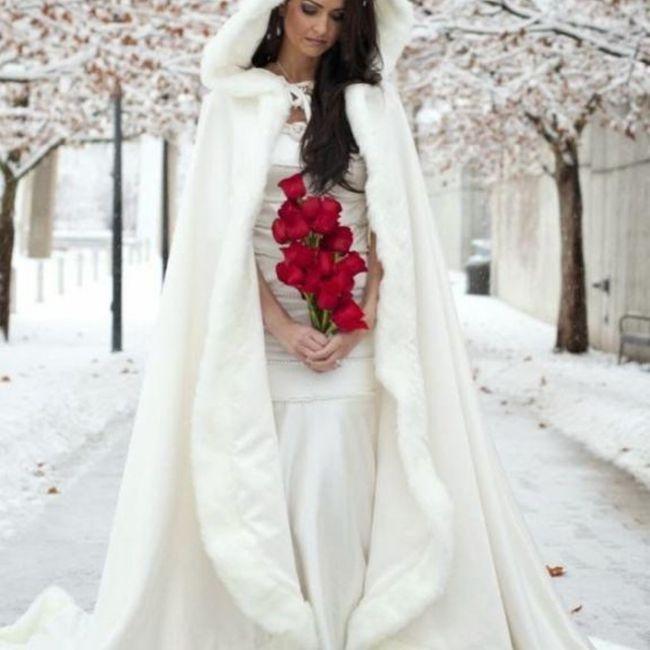 Y un vestido de novia navideño?? 8