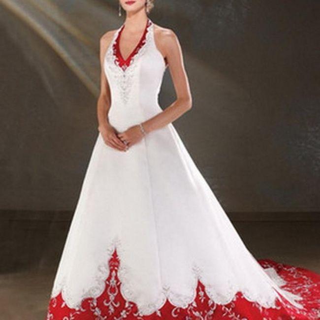 Y un vestido de novia navideño?? 9