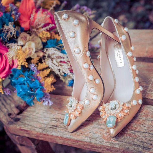Y los zapatos para esa boda navideña? 6