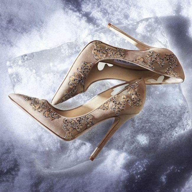 Y los zapatos para esa boda navideña? 7