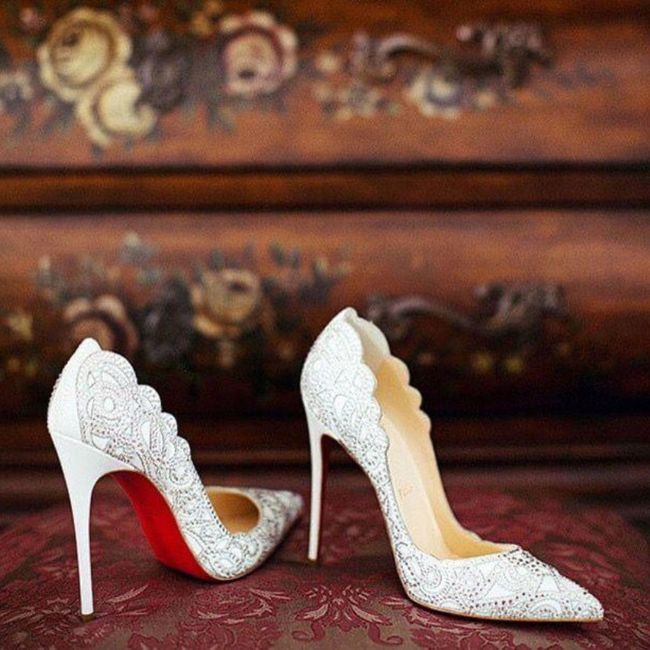 Y los zapatos para esa boda navideña? 12