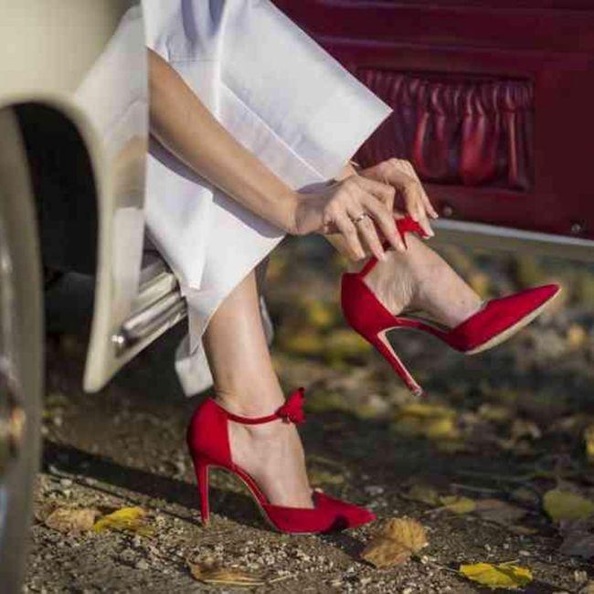 Y los zapatos para esa boda navideña? 15