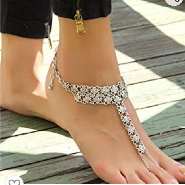 Descalza o con zapatos?? 4