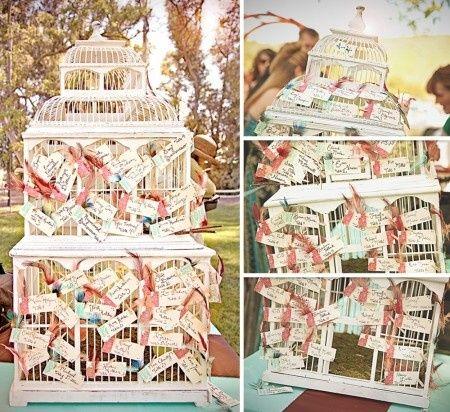 Tableplan birdcage