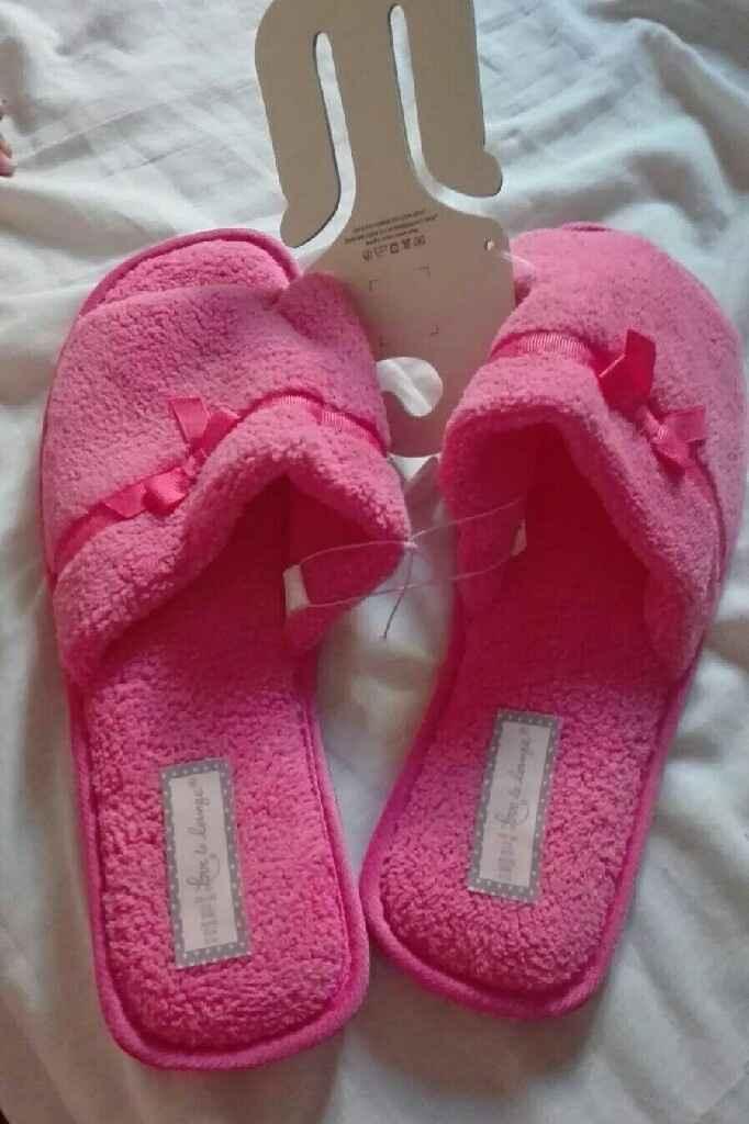 Zapatillas para bata. .. - 1