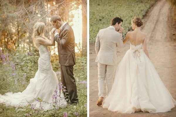 Fotos de boda romanticas - 5