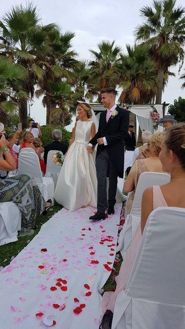 Increiblemente encantada con mi boda - 2