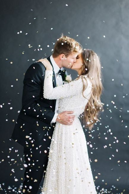 La mejor foto de boda: ¡el BESO! 1