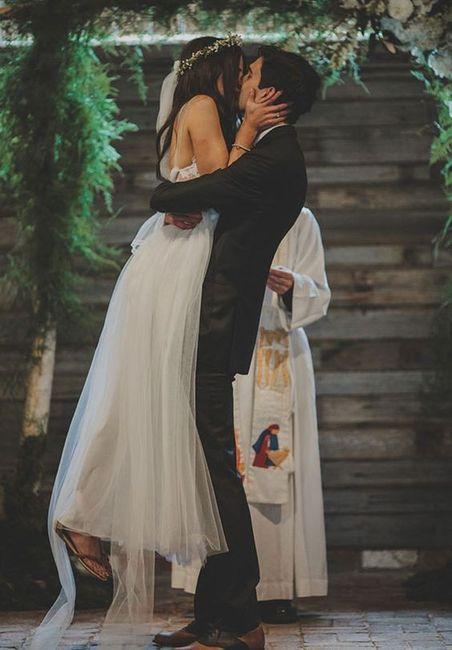 La mejor foto de boda: ¡el BESO! 3