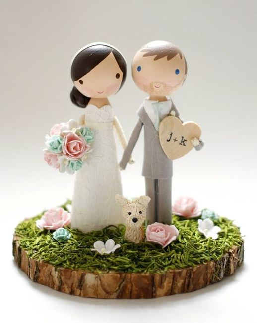 3 CAKE TOPPERS, ¿cuál prefieres? 1