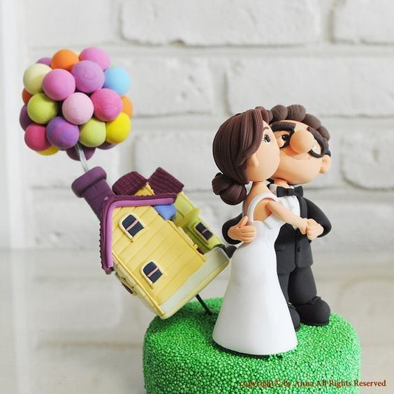 3 CAKE TOPPERS, ¿cuál prefieres? 3