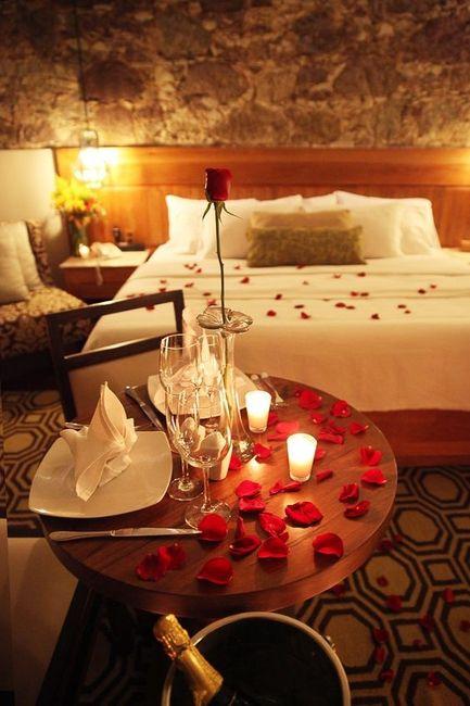 Tu cena romántica perfecta sería... 1