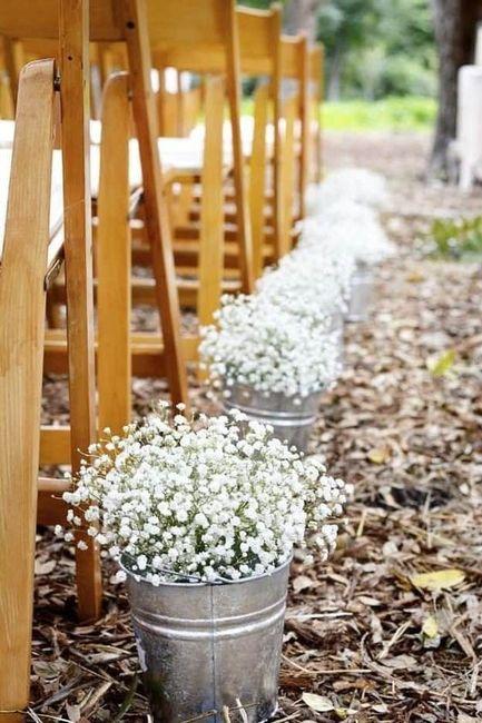 Camino al altar: ¿flores o velas? 🕯️ 1