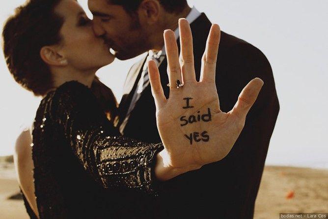 ¿En qué fecha te pidió matrimonio? 1
