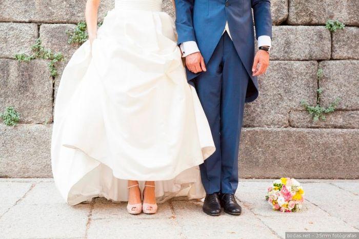 ¿Qué es lo que NUNCA llevarías en tu boda? 1