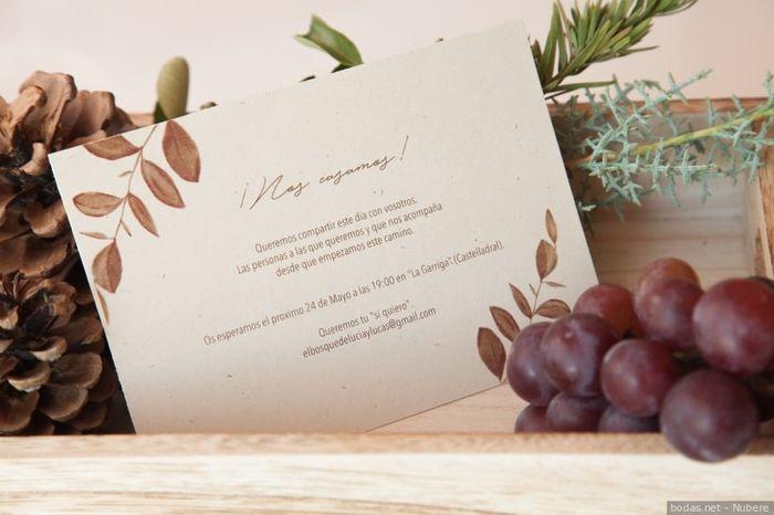 💌: Escolhe uns envelopes para estes convites! 2
