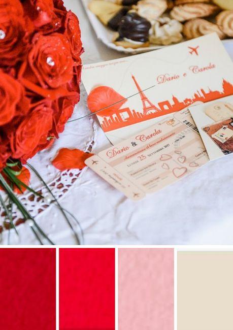 ¿Qué paleta de colores prefieres para tus invitaciones? 4