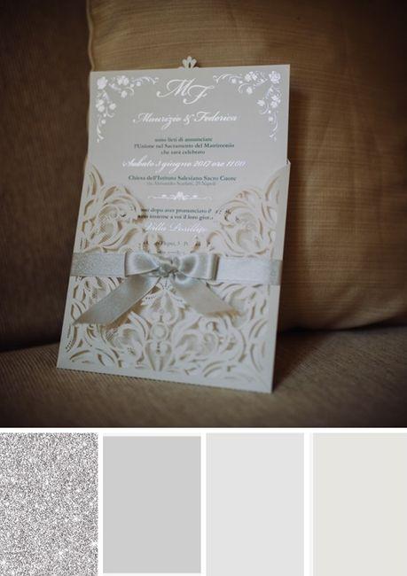¿Qué paleta de colores prefieres para tus invitaciones? 5
